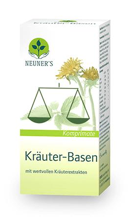 Kräuter Basen Komprimate